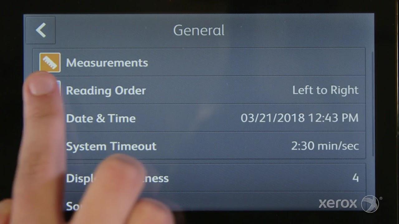Xerox VersaLink Quick Tip: Swipe Left to Right YouTube Video