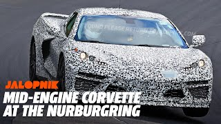 Watch Footage of the Mid-Engine Corvette at the Nurburgring