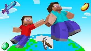 TOUCH STUFF = Make It FLOAT In Minecraft! (don't fall)