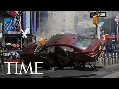 1 Dead, 22 Injured When Car Plows Through Crowded Times Square | TIME