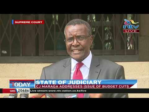 We have serious challenges getting funds through IFMIS - CJ Maraga