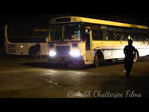 APSRTC EXPRESS BUS AT MGBS,HYDERABAD