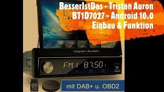 BesserIstDas - Tristan Auron BT1D7027 Android 10.0 - Einbau & Funktion