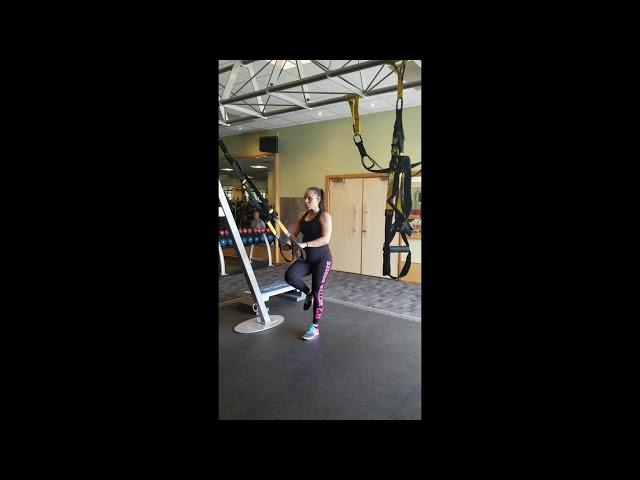 Suspension Training Single Leg Deadlift