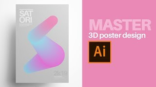 Make AWESOME Minimal Poster Designs In 5 Minutes!!
