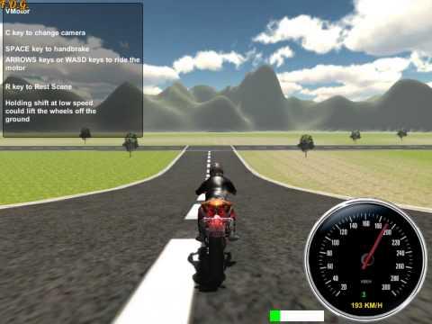 3D Moto Simulator (3Д мото симулятор) - прохождение игры