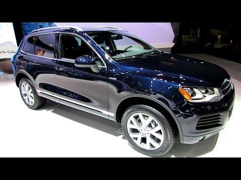 2014 Volkswagen Touareg TDI Edition X - Exterior and Interior Walkaround - 2014 New York Auto Show