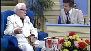Jim Bakker PTL Club with Colonel Sanders 1979