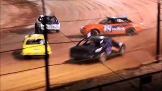 Narrogin Speedway | Production Sedan Pile Up