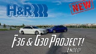 BMW F36 420d XDrive Coilover & BMW G30 H&R Spor Yaylar Uygulama Projesi ve Daha Fazlası