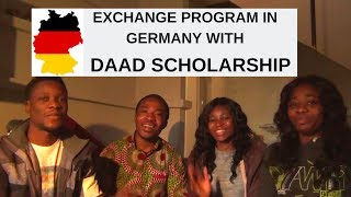 Exchange Program in Germany with DAAD Scholarship