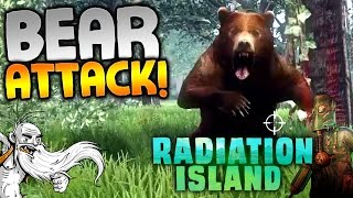 """Radiation Island Gameplay - """"ATTACKED BY A SWARM OF BEARS!!!"""" Walkthrough Let's Play"""