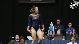 Гимнастка Кэтэлин Охаши из США продемонстрировала шокирующий шпагат