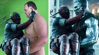 Deadpool 2 Without The CGI! VFX Breakdown (DNEG)