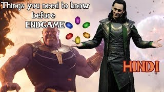 Things you need to know befire ENDGAME [HINDI]