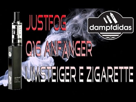 YouTube Video zu Justfog Q16 Starterset 900 mAh 1.9 ml