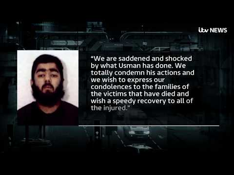 Family of terrorist Usman Khan 'totally condemn his actions' | ITV News