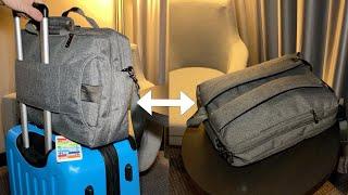 Coolbell Business Aktentasche und Notebook Rucksack in einem (umwandelbar) - Test - deutsch
