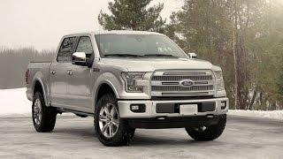 2015 Ford F150 Platinum | USA Best-Selling Pickup Trucks (2015)