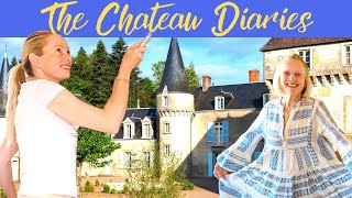 THE CHATEAU DIARIES: LETS GET THIS CHATEAU INTO SHAPE!