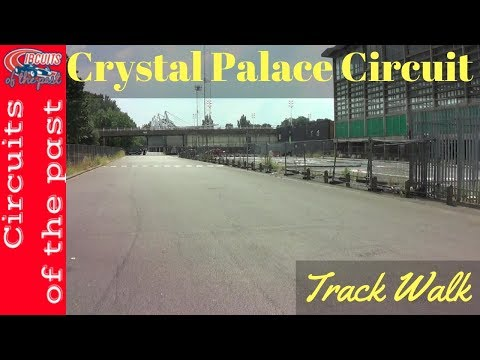 Crystal Palace Circuit Track Walk 1953 - 1972 layout