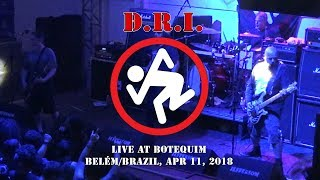 D.R.I. - Hooked (Live in Belém/Brazil, Apr 11, 2018) HD