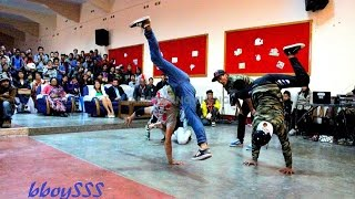 preview picture of video 'bboying 3 on 3 final battle @Hometown love II,Shillong, Northeast India 2014'