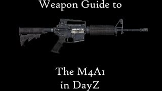 DayZ Standalone - Weapon Guide - M4A1