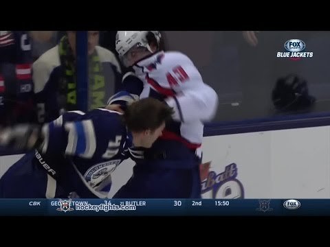 Tom Wilson vs Jared Boll