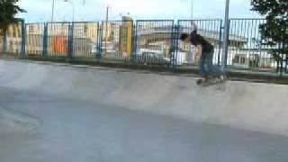 preview picture of video 'Skate trip na Slovacje - Skatepark Kosice'