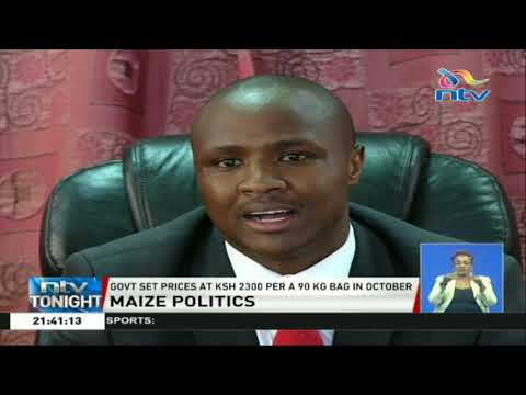 MPs Alfred Keter and Tiren want the government to raise maize prices to Ksh. 3000 per bag
