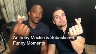 Download Youtube: Sebastian Stan and Anthony Mackie Funny Moments