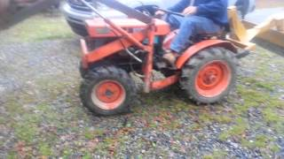 4WD Kubota B6000 front end loader *SOLD*