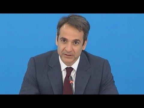 Εναρξη της διαβούλευσης για το κυβερνητικό πρόγραμμα της ΝΔ, από τον Κυρ. Μητσοτάκη