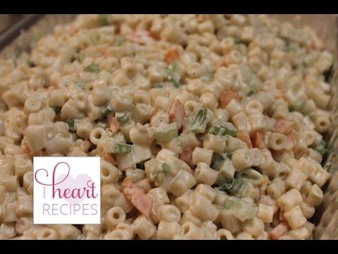 Creamy Macaroni Salad – I Heart Recipes