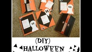 (DIY) Halloween Invitations