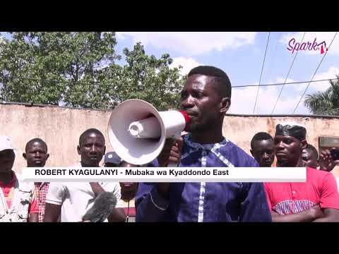 Bobi Wine responds to eviction notice