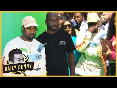 fa0fd20be8bf Kanye West Breaks Down in Tears Supporting Friend Virgil Abloh at Louis  Vuitton Show