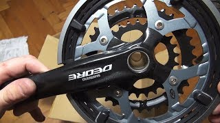 Shimano deore fc-m591