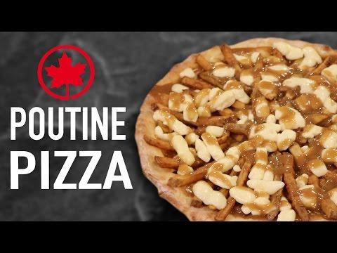 DIY POUTINE PIZZA – CANADA VS US