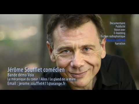 Démo-voix Jérôme SOUFFLET