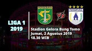 VIDEO: Live Streaming Liga 1 2019 Persebaya Surabaya Vs Persipura Jumat (2/8) Pukul 18.30 WIB
