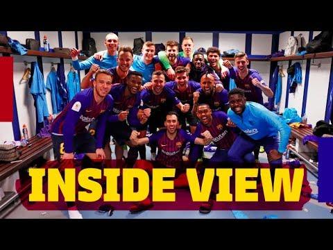 REAL MADRID 0-3 BARÇA   Inside #ElClasico   Copa del Rey