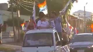 preview picture of video 'Caravana del Frente Amplio en San Jose de Mayo'