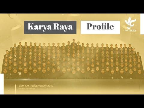 BEM KM IPB 2019 | Profil Karya Raya