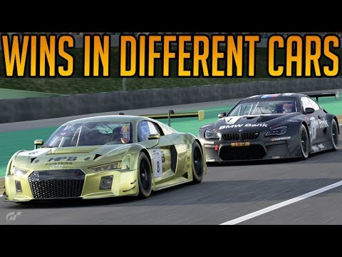 Gran Turismo Sport: Trying To Win in 4 Different Cars