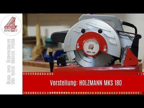 Maschinenvorstellung: Holzmann MKS 180