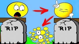 Как менялся ЖЕЛТЫЙ ПУЗЫРЬ и его ЖИЗНЕНЫЙ ЦИКЛ #5 ПУЗЫРЬ плюс ПУЗЫРЬ Игра Blob Thrower