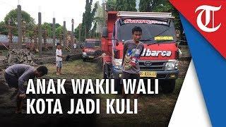 Viral Anak Wakil Wali Kota Tidore Muhammad Rafdi Marajabessy Kerja Jadi Kuli Banguanan