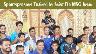 International Sportsmen trained by Saint Dr MSG
